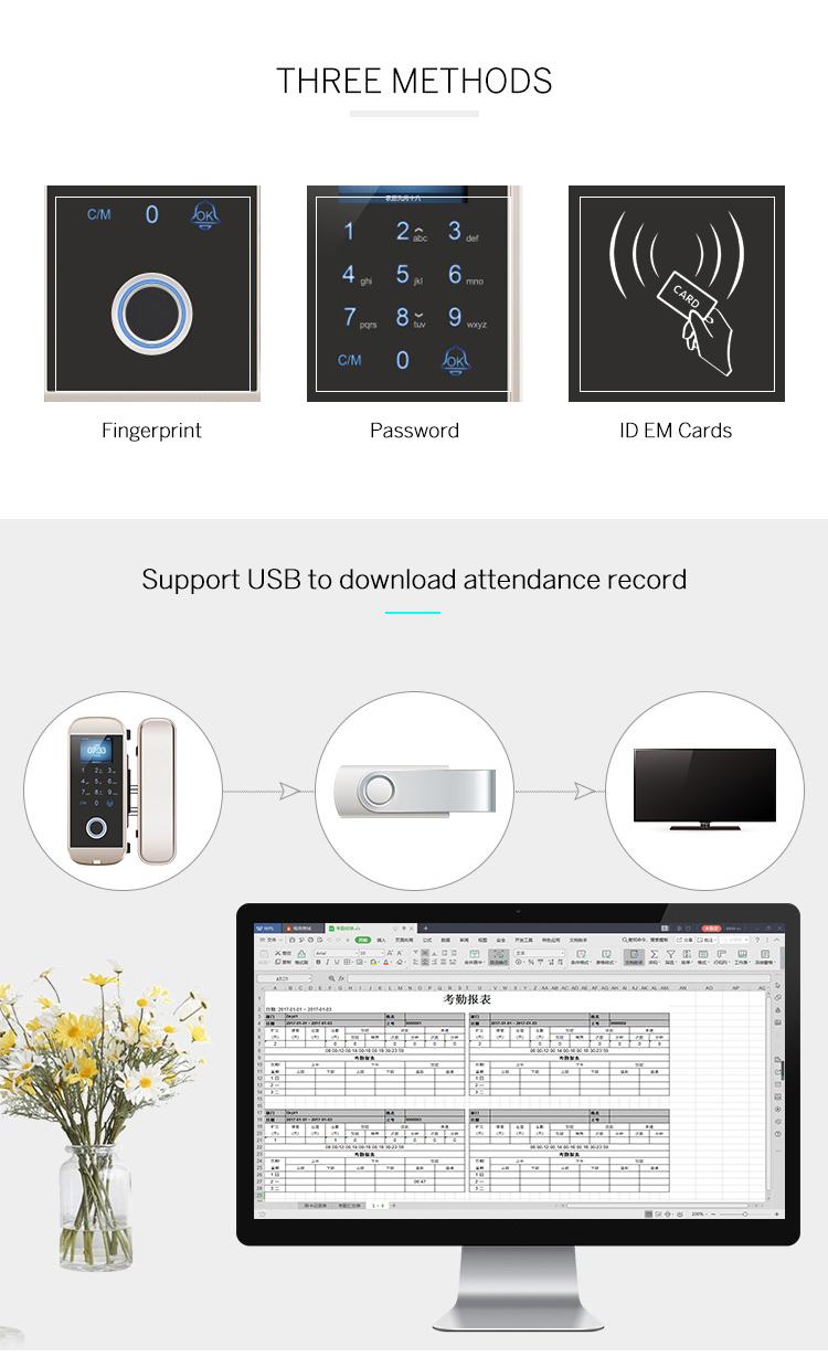 Touch-Screen Digital Door Locks