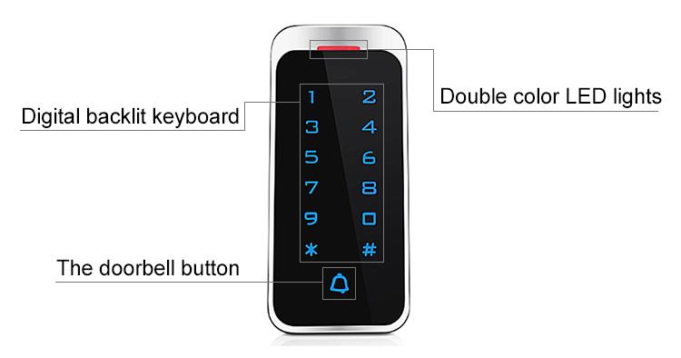 Narrow Touch Keypad