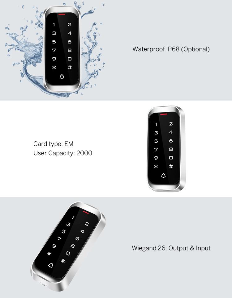 Standalone Touch Keypad