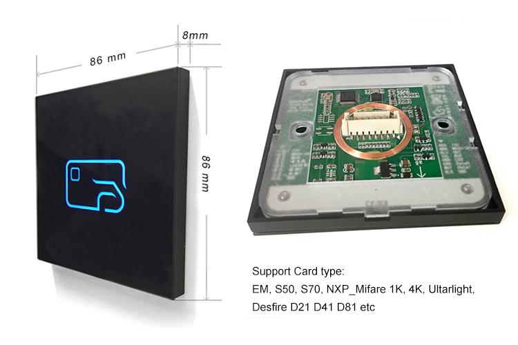 Dual RFID Card Reader