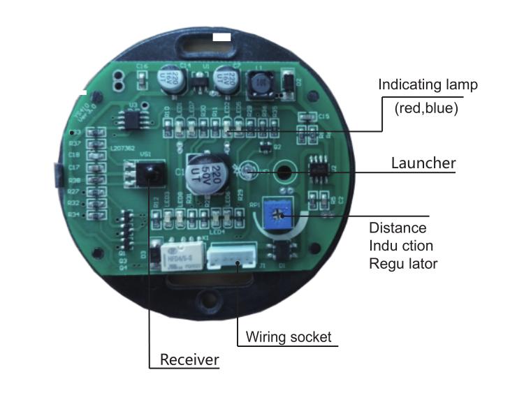 Hand Wave Sensor Button